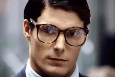 "9cc9647b64 Clark Kent s nerdalicious glasses are one of the most iconic examples of  eyewear in the movies ever. The eyeglasses ensured that the ""mild-mannered  ..."