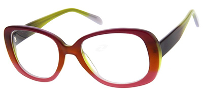 red and yellow frames