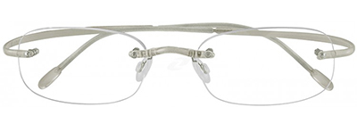 transparent unisex glasses