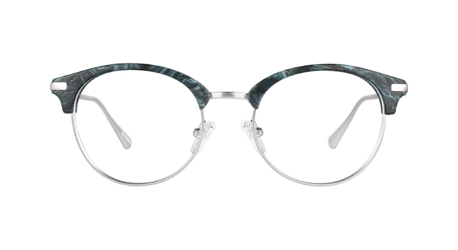 browline clipon glasses