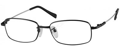 black titanium frames