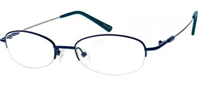blue titanium glasses