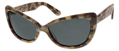 brown cat eye frames