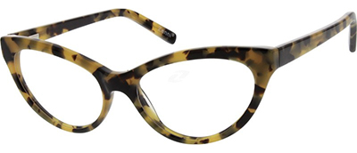 cat eye tortoiseshell glasses