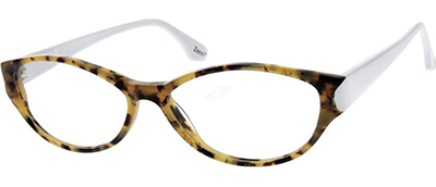white arm tortoise glasses