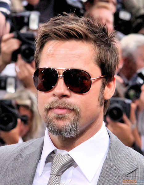 9672a0cac2c6b Brad Pitt Is Turning 50 And Still Looks Dynamite In Glasses   Zenni ...
