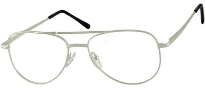 silver rimmed glasses