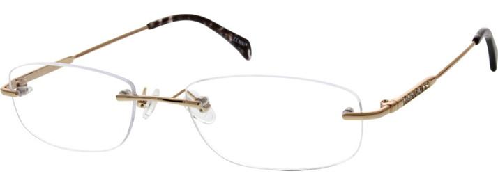 How to Measure an Eyeglass Frame Through the Lens