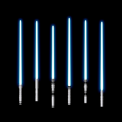 blue light sabers