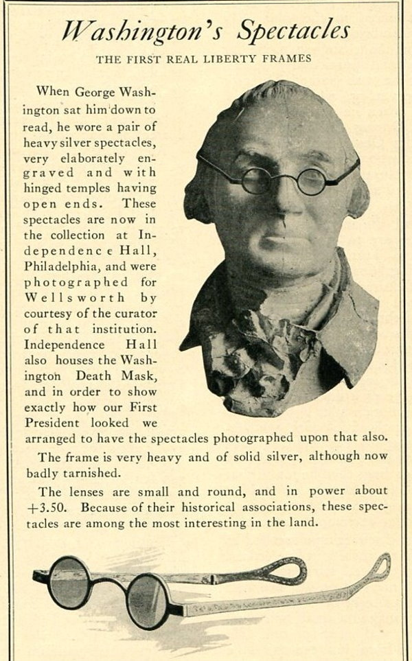 George Washington Spectacles