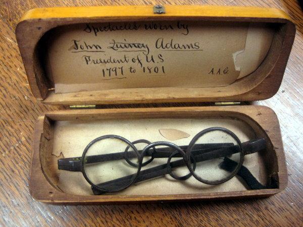 John Adams Glasses in Case