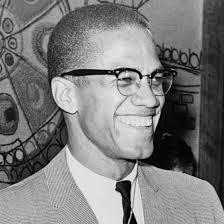 Malcolm X - Half Rim Glasses