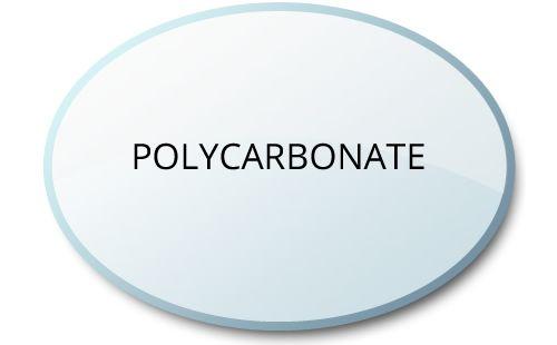 polycarbonate-lens