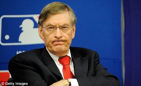 Commissioner of baseball bans steroids
