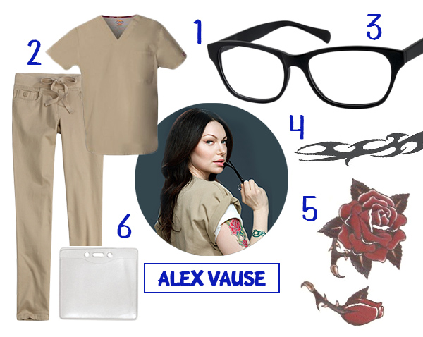 Alex Vause Orange Is The New Black Tattoos