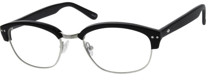 6794 Acetate and Stainless Steel Full-Rim Frame with Acetate Temples