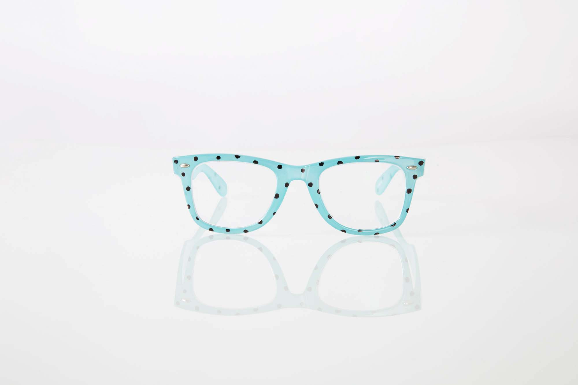 Zenni Optical Polka Dot Glasses : DIY Guide To Decorating Glasses Through the Lens