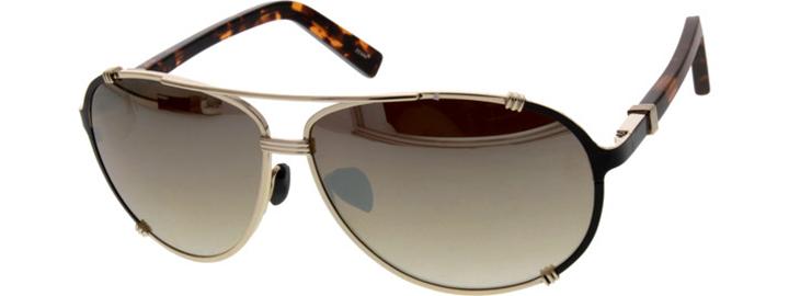 Gold mirror finish sunglasses | Zenni Optical