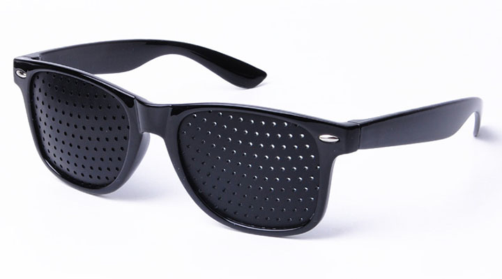 Sunglasses Meaning  pinhole glasses they ll do in a pinch but not in a car through