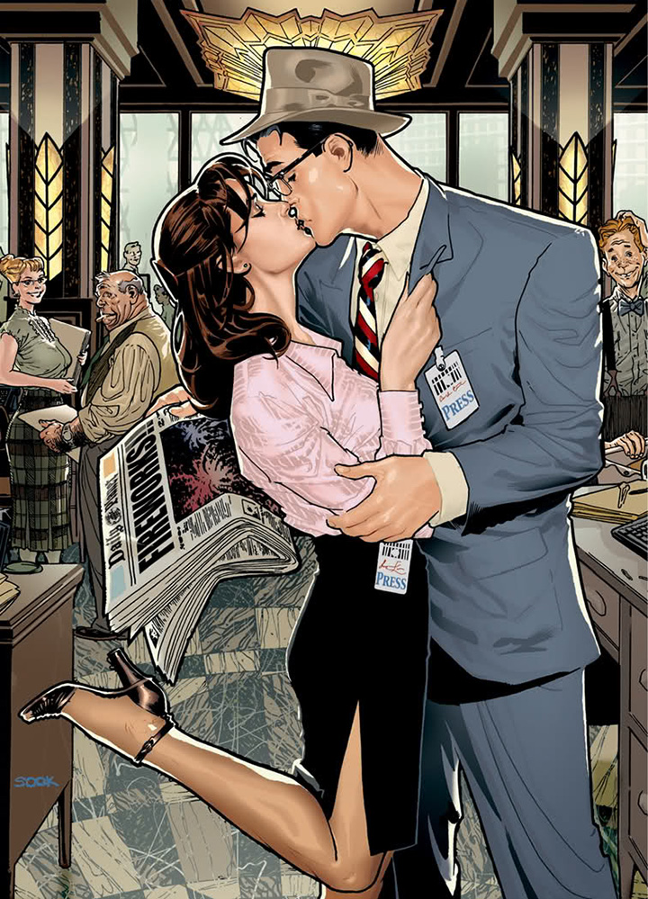 A couple kissing | Zenni Optical