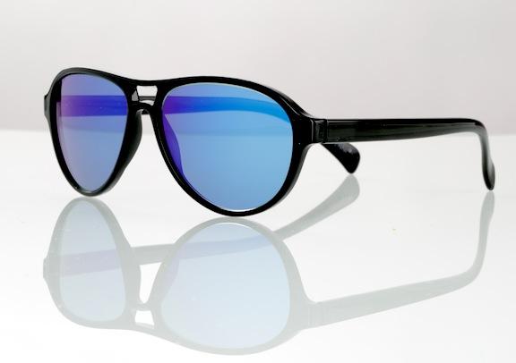 Prescription Mirrored Aviator Sunglasses  mirror sunglasses through the lens