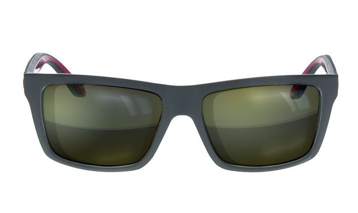 flat top tinted sunglasses