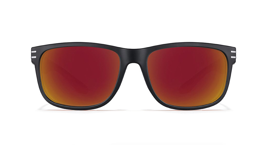 square mirrored sunglasses
