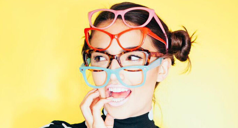 model glasses