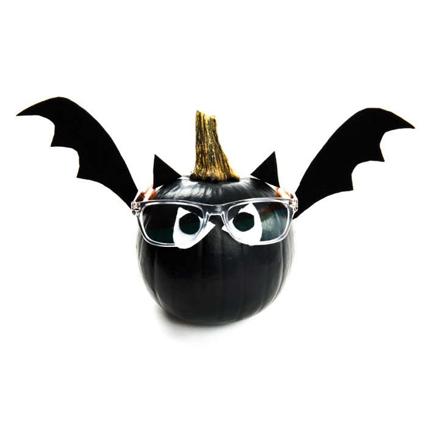 DIY pumpkin bats