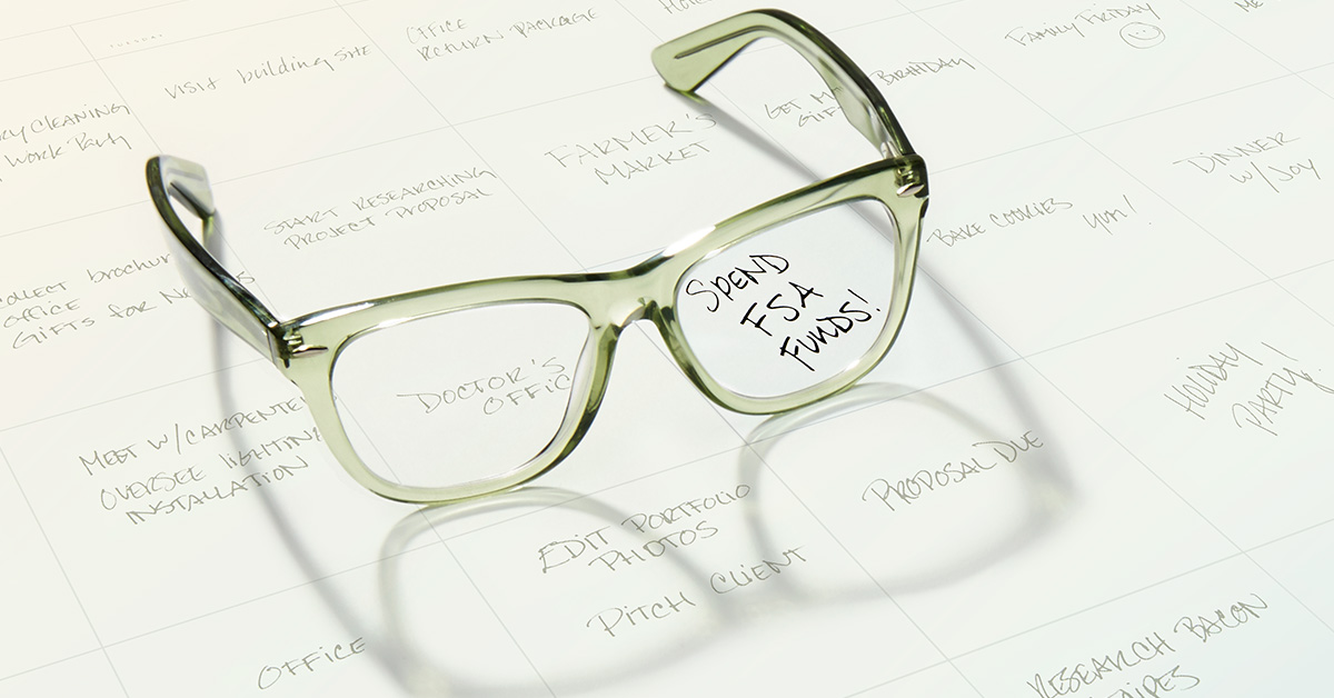 Flex Spending Accounts At Zenni | Through The Lens