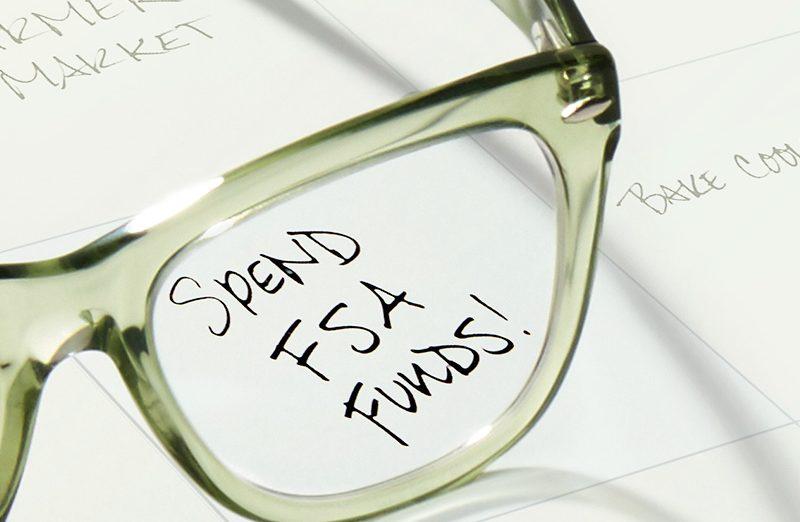 using flex spending for glasses
