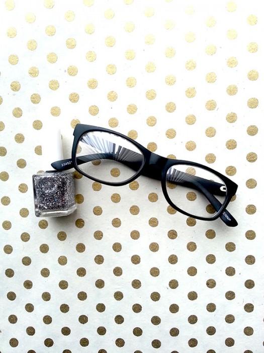 Sparkle Specs DIY Step 1