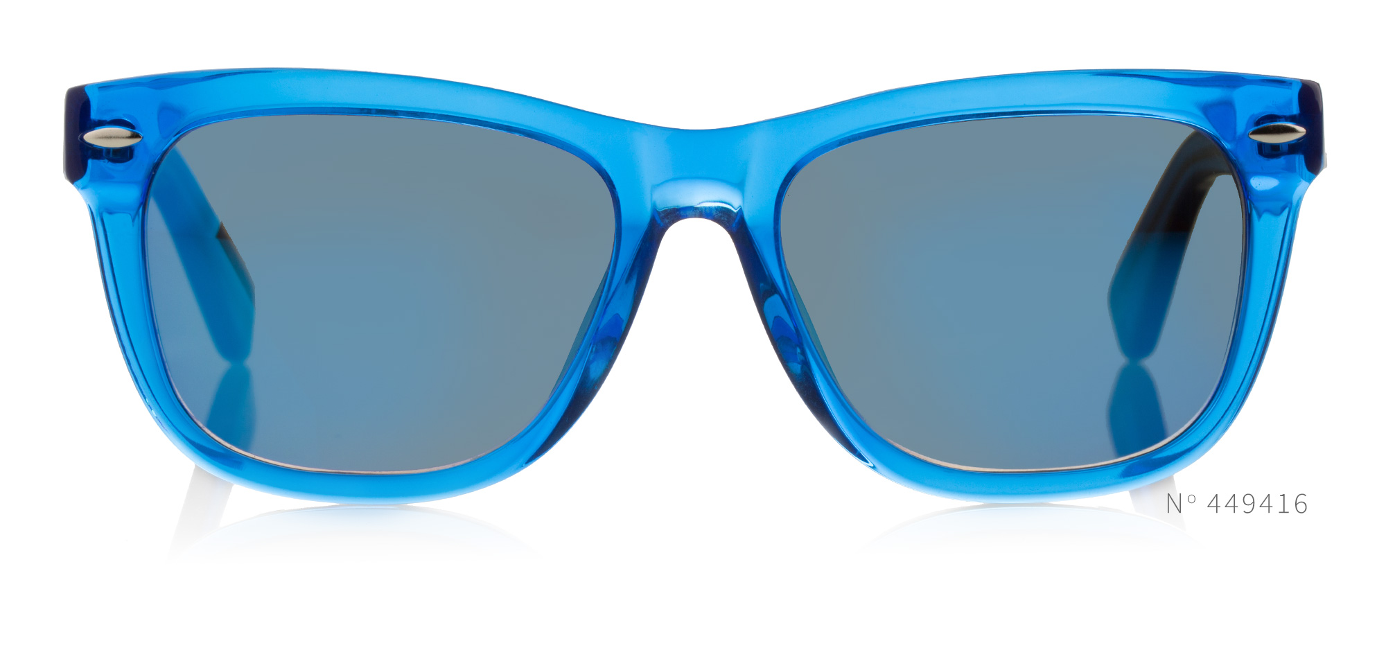 Blue Acetate Wayfarers