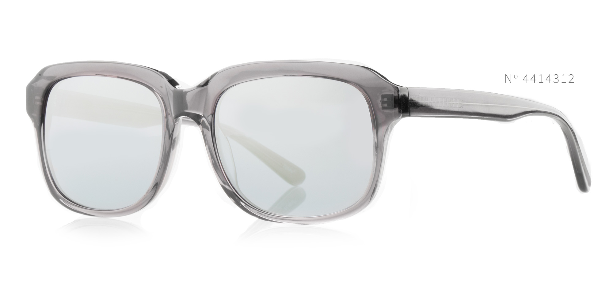 Grey Square Sunglasses