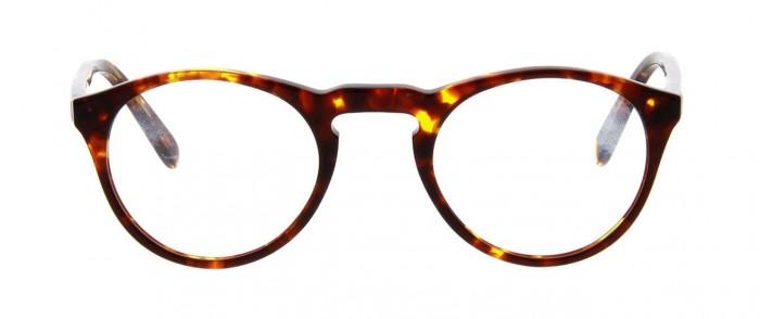 Vintage Tortoiseshell Round Eyeglasses