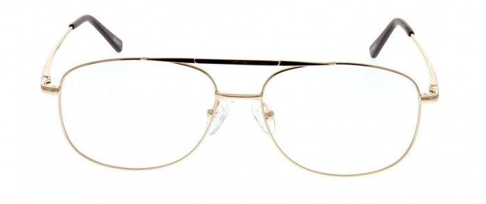 gold metal wire glasses
