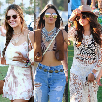 Coachella Outfits, Sunglasses, and Celebrity Style
