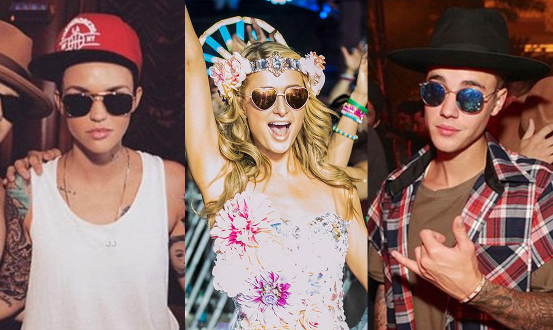 EDC Vegas Celebs in glasses