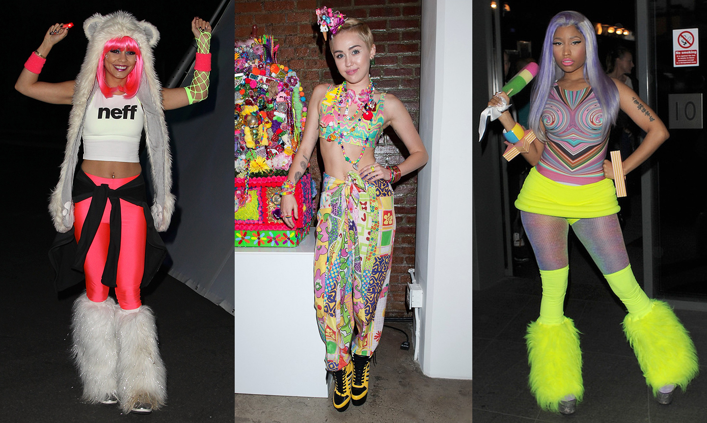 celebrity edc outfits