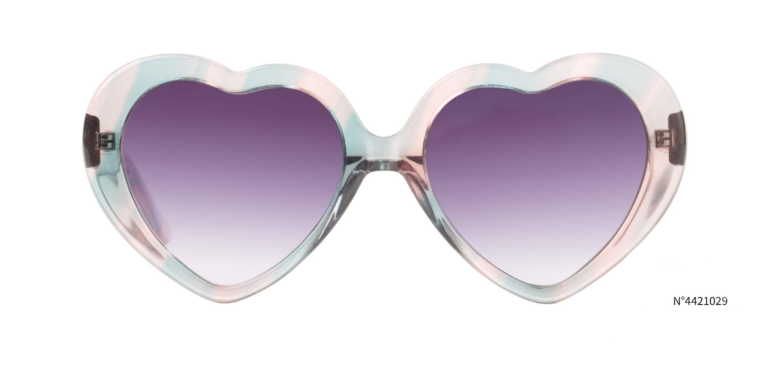 heart shaped edm sunglasses