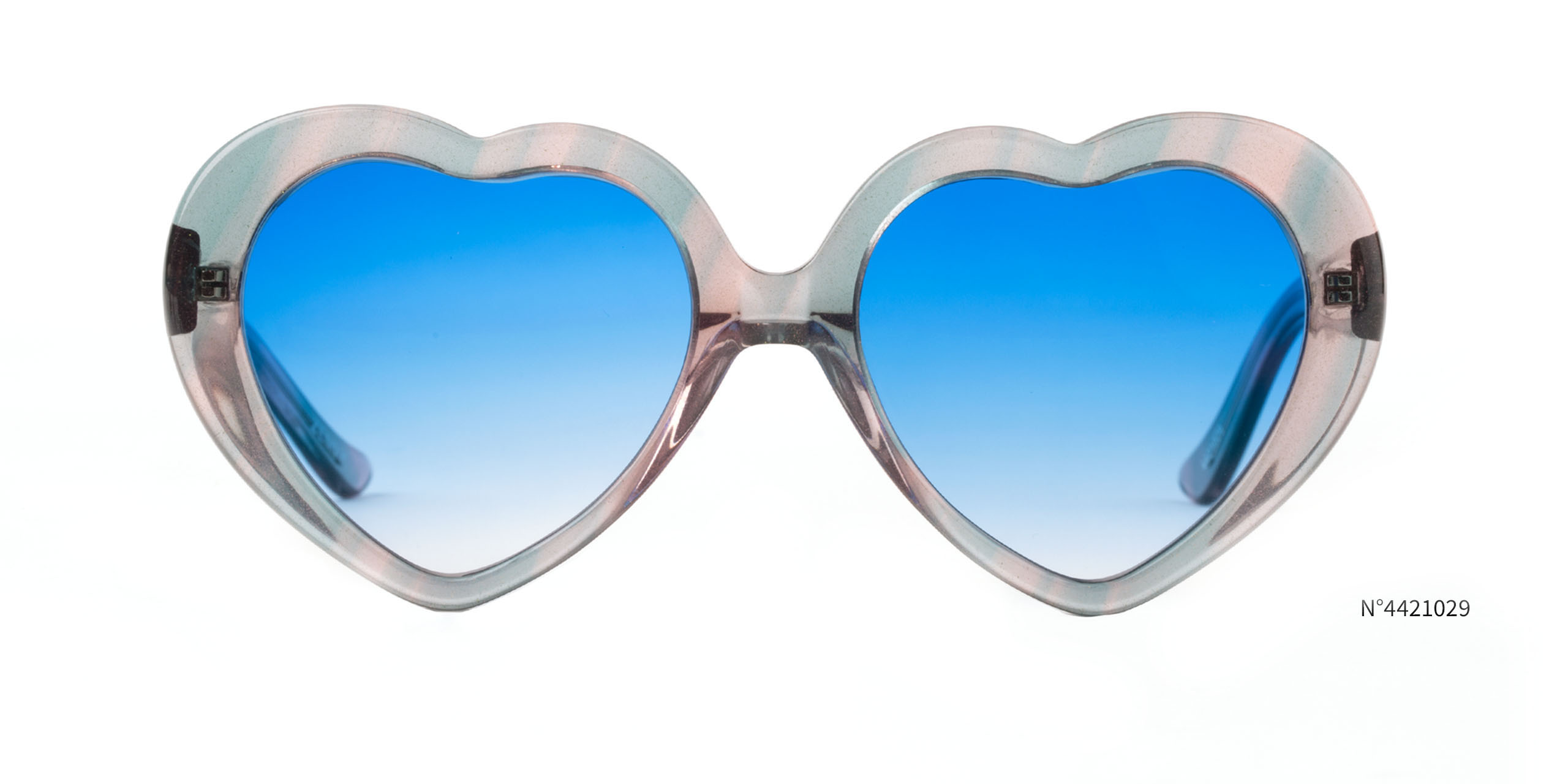 heart shaped edm glasses