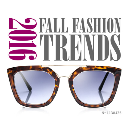 Fall Eyewear Fashion Trends