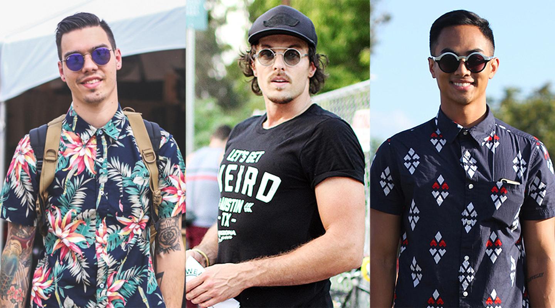 street fashion glasses
