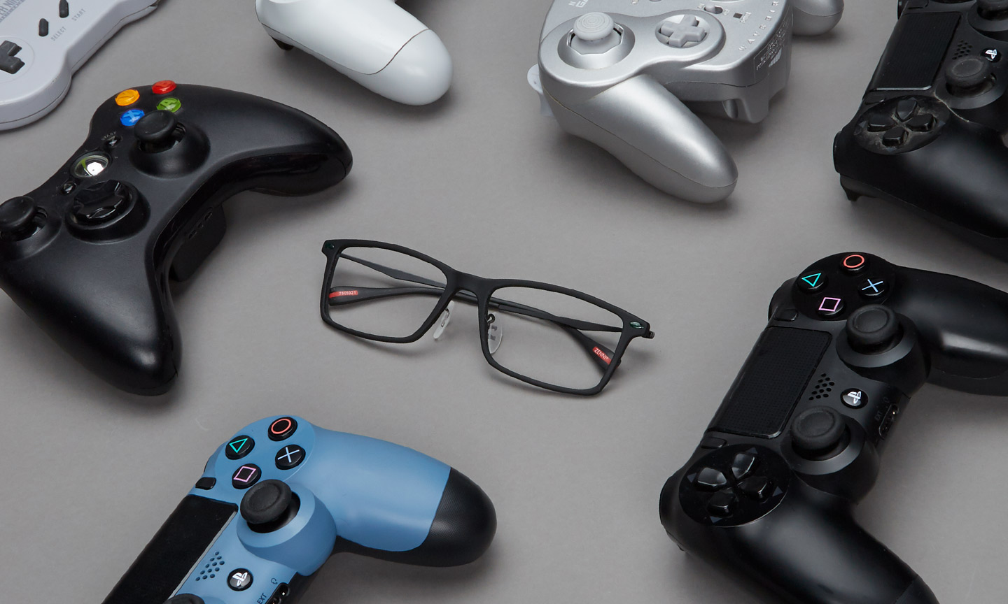 video game glasses