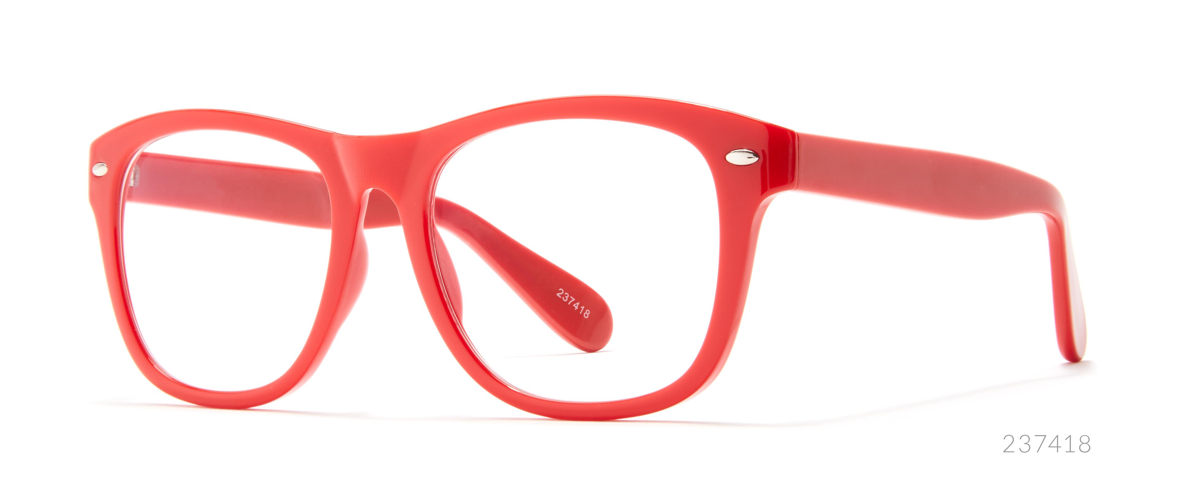 red wedding glasses