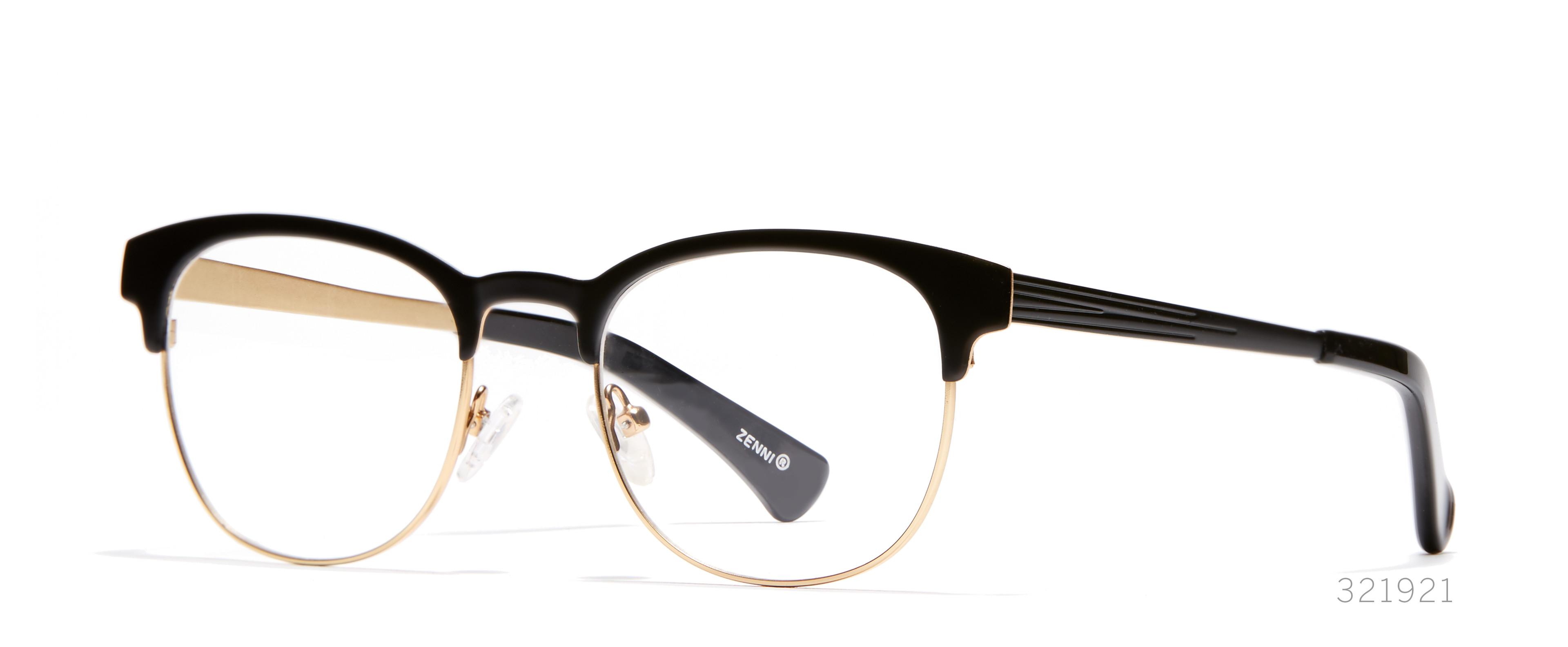 browline-diamond face shaped glasses