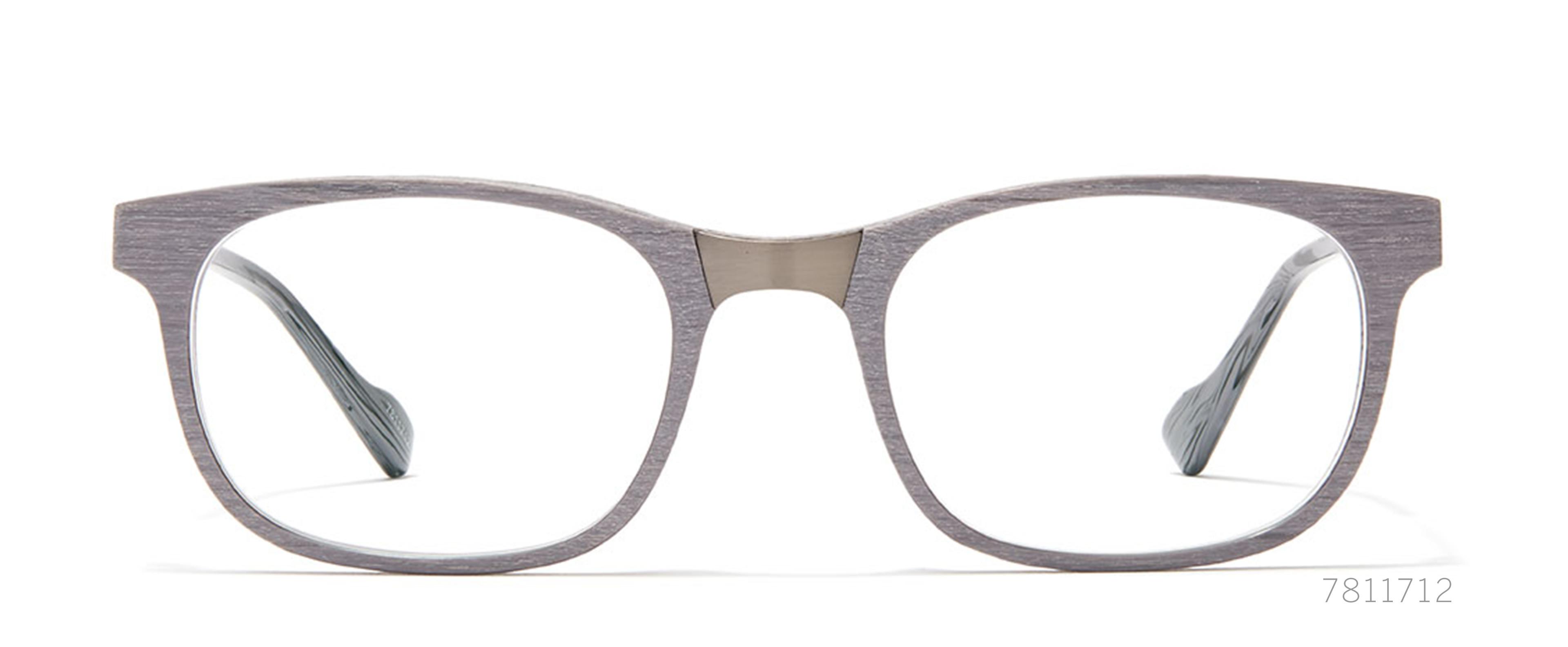 gray wood glasses