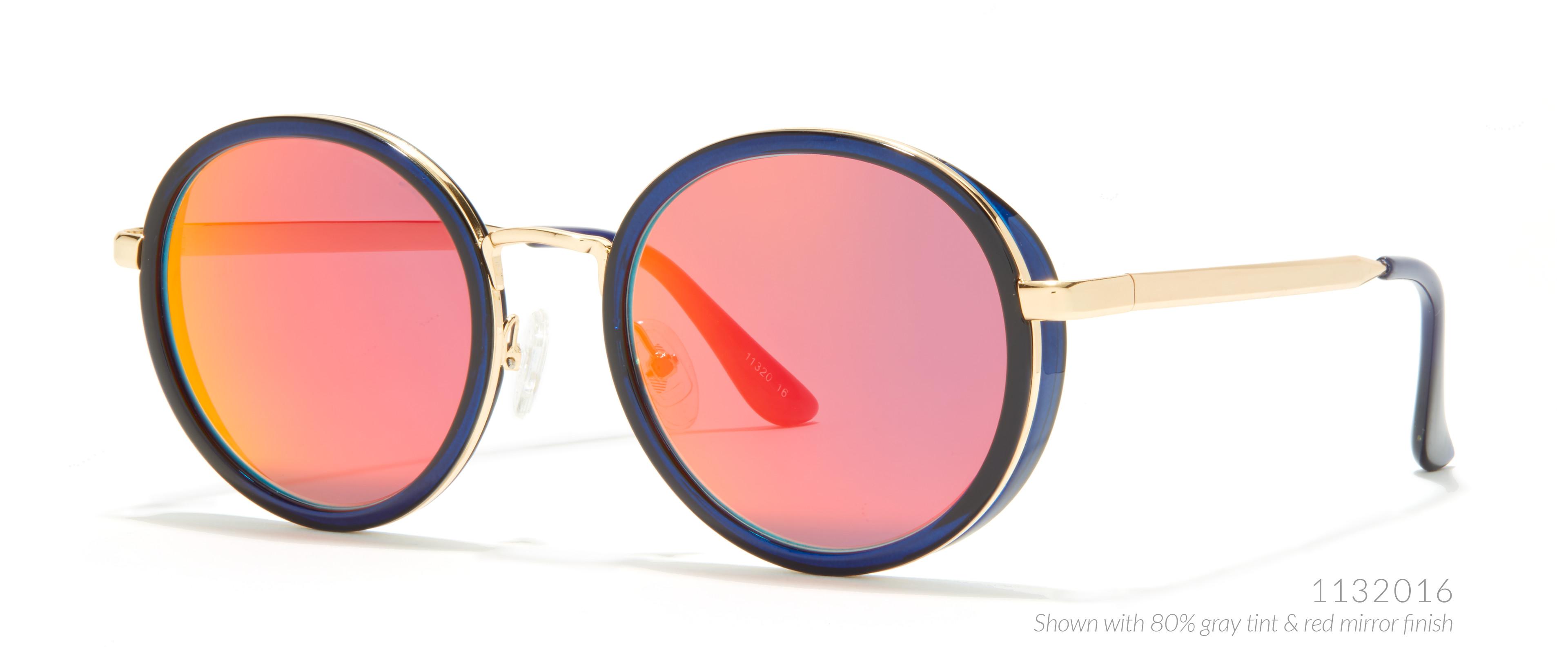 round burning man sunglasses