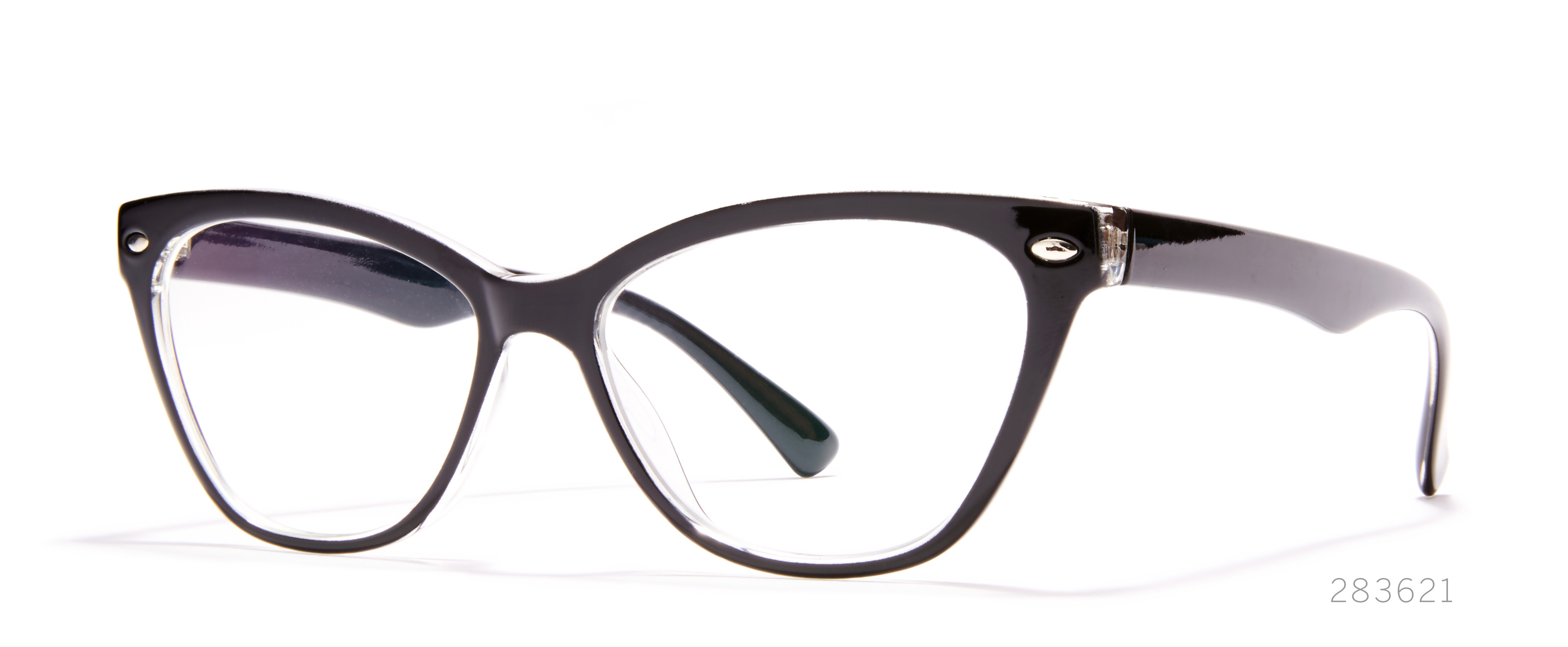 cateye statement glasses