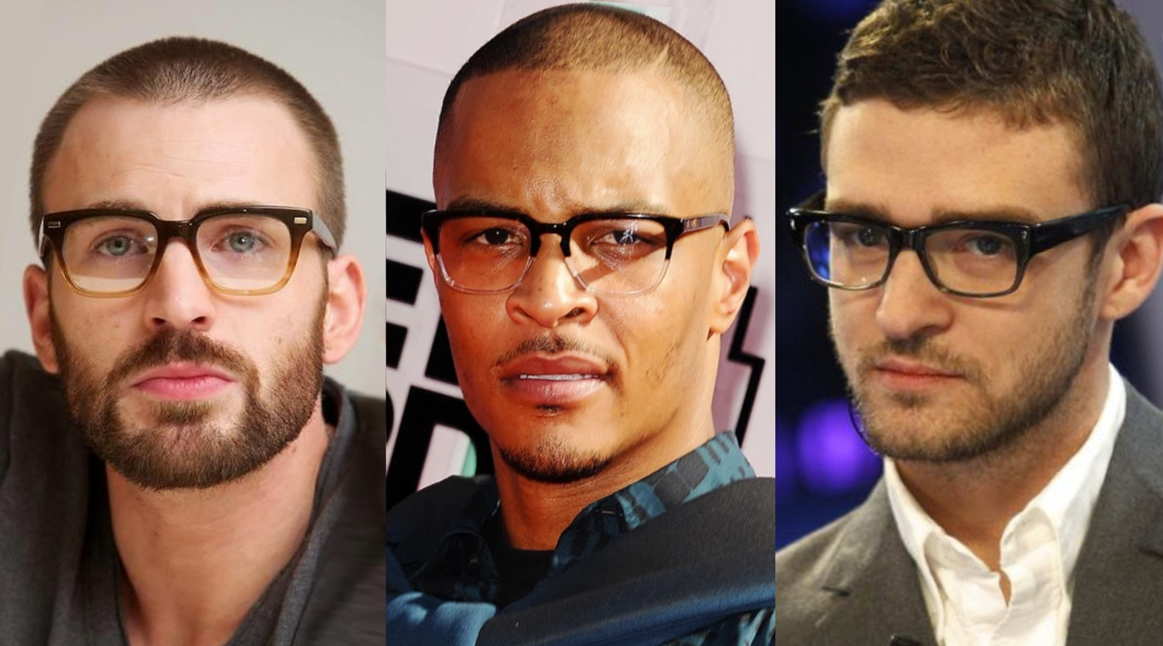 male celeb glasses